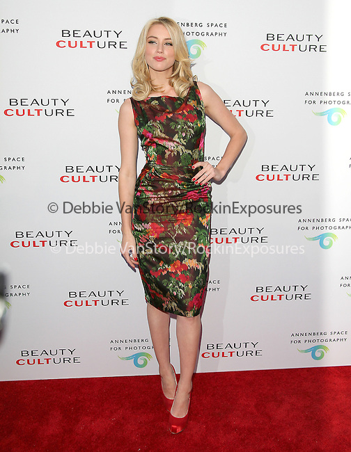 Amber Heard at The opening of BEAUTY CULTURE, a photographic exploration of how feminine beauty is defined, challenged and revered in modern society held at Annenberg Space for Photography in Century City, California on May 19,2011                                                                               © 2011 Hollywood Press Agency