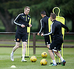 Stephen Pearson at training