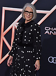 "Elizabeth Cantillon 086 attends the premiere of Columbia Pictures' ""Charlie's Angels"" at Westwood Regency Theater on November 11, 2019 in Los Angeles, California."