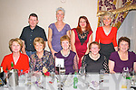 Knockanure Community Centre Christmas Party: The staff of Knockanure Community Centre enjoying their Christmas party at Behan's  Restaurant at the Horseshoe Bar, Listowel on Saturday night last. Front : Mary Carmody, Liz galvin, Kathy Kennelly, Betty Doody & Nora Winter. Back : Danny Winter, Maggie Large Florina Carol & Norella Molyneaux.