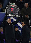 Everton manager Marco Silva reacts during the Premier League match againstLeicester City at the King Power Stadium, Leicester. Picture date: 1st December 2019. Picture credit should read: Darren Staples/Sportimage