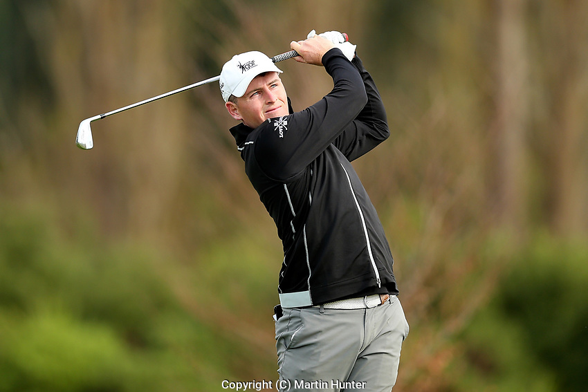 Matthew McLean. Jennian Homes Charles Tour, Pegasus Open, Christchurch, New Zealand, Thursday 3 October 2019. Photo Martin Hunter/www.bwmedia.co.nz