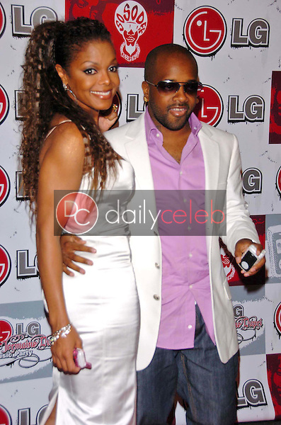 Janet Jackson and Jermaine Dupri<br />