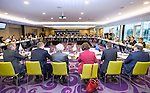 BRUSSELS - BELGIUM - 25 November 2016 -- European Training Foundation (ETF) Governing Board meeting. -- Jean-Paul Heerschap, International Aid / Cooperation Officer - DG DEVCO B3 European Commission; Bernard Brunet, Head of Unit of DG NEAR A European Commission; Madlen Serban, Director ETF; Michel Servoz, Director-General, DG Employment, Social Affairs and Inclusion, European Commission; Karol Jakubík, Main State Advisor - Unit of Vocational Education and Training Ministry of Education, Science, Research and Sport of Slovak Republic and Peter Greenwood, Head of CPD - ETF. -- PHOTO: Juha ROININEN / EUP-IMAGES