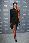 Super model and activist  Naomi Campbell arrives at the WSJ. Magazine 2017 Innovator Awards at The Museum of Modern Art in New York City, on November 1, 2017.