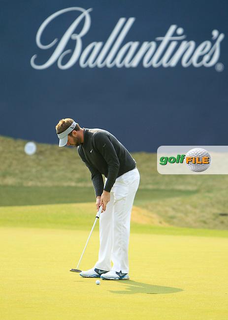 Ballantine's Championship 2013, Friday. Scott Jamieson