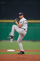 Lakeland Flying Tigers starting pitcher Jesus Rodriguez (37) during a Florida State League game against the Clearwater Threshers on May 14, 2019 at Spectrum Field in Clearwater, Florida.  Clearwater defeated Lakeland 6-3.  (Mike Janes/Four Seam Images)
