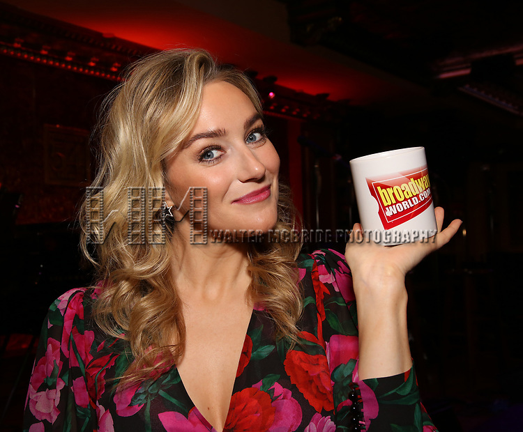 Betsy Wolfe during the Press Preview at Feinsteins/54 Below on February 21, 2019 in New York City.