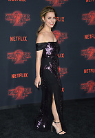 Cara Buono at the premiere for Netflix's &quot;Stranger Things 2&quot; at the Westwood Village Theatre. Los Angeles, USA 26 October  2017<br /> Picture: Paul Smith/Featureflash/SilverHub 0208 004 5359 sales@silverhubmedia.com
