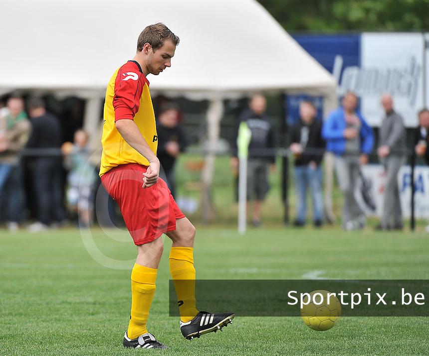 Eendracht Wervik - KV Kortrijk : Geoffrey Geldhof<br /> foto VDB / Bart Vandenbroucke