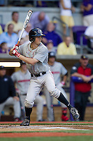 Georgia Bulldogs outfielder Stephen Wrenn #11 AAA during the Southeastern Conference baseball game against the LSU Tigers on March 22, 2014 at Alex Box Stadium in Baton Rouge, La. The Tigers defeated the Bulldogs 2-1. (Andrew Woolley/Four Seam Images)