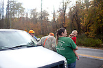 Images from a bear hunt in Travelers Rest, South Carolina October 28, 2010. Bear hunting is legal for two weeks in South Carolina.