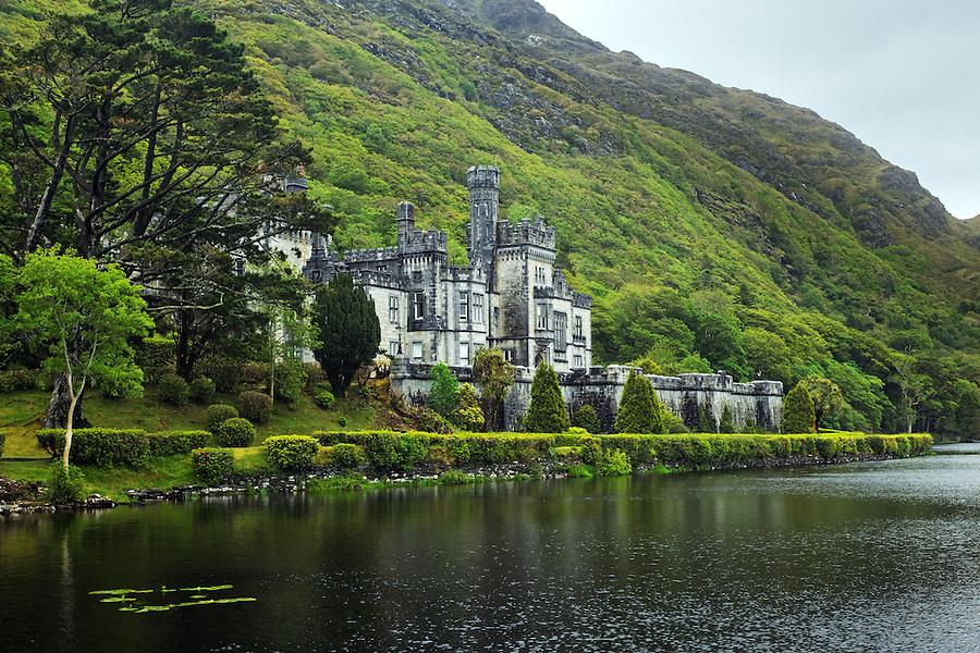 Kylemore Abbey, Connemara, County Galway, Republic of Ireland