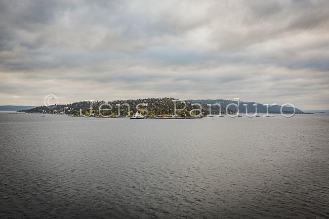 Oslofjorden set fra søsiden. Foto: Jens Panduro