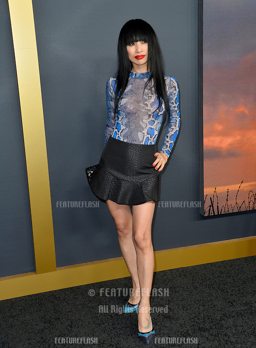 """LOS ANGELES, USA. December 19, 2019: Bai Ling at the premiere of """"1917"""" at the TCL Chinese Theatre.<br /> Picture: Paul Smith/Featureflash"""