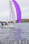 Commodore Bridget King & Brendan Corkery from the Atlantic S.C. competing in the Inter Club Autumn Regatta in Cahersiveen at the weekend