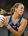 Renae Hallinan during the Melbourne Vixens v  Northern Mystics, Final Round of the ANZ Championships at Hisense Arena 6-7-08.Photo: Grant Treeby