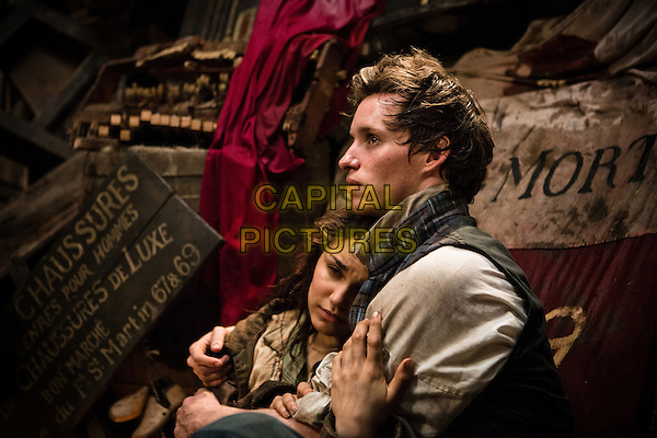 SAMANTHA BARKS & EDDIE REDMAYNE.in Les Miserables (2012) .*Filmstill - Editorial Use Only*.CAP/FB.Supplied by Capital Pictures.