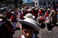 Fiesta Navideña. Saquisili, Ecuador