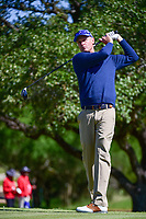 Bob Estes (USA) watches his tee shot on 2 during round 4 of the Valero Texas Open, AT&amp;T Oaks Course, TPC San Antonio, San Antonio, Texas, USA. 4/23/2017.<br /> Picture: Golffile | Ken Murray<br /> <br /> <br /> All photo usage must carry mandatory copyright credit (&copy; Golffile | Ken Murray)