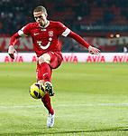 Nederland, Enschede, 19 januari 2013.Eredivisie.Seizoen 2012-2013.FC Twente-RKC Waalwijk.Luc Castaignos van FC Twente in actie met bal.