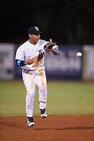 Tampa Yankees shortstop Gleyber Torres (11) during a game against the Daytona Tortugas on August 5, 2016 at George M. Steinbrenner Field in Tampa, Florida.  Tampa defeated Daytona 7-1.  (Mike Janes/Four Seam Images)
