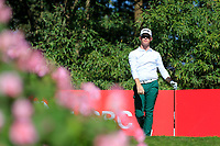 Brandon Stone (RSA) on the 2nd tee during the final round at the WGC HSBC Champions 2018, Sheshan Golf CLub, Shanghai, China. 28/10/2018.<br /> Picture Fran Caffrey / Golffile.ie<br /> <br /> All photo usage must carry mandatory copyright credit (&copy; Golffile | Fran Caffrey)