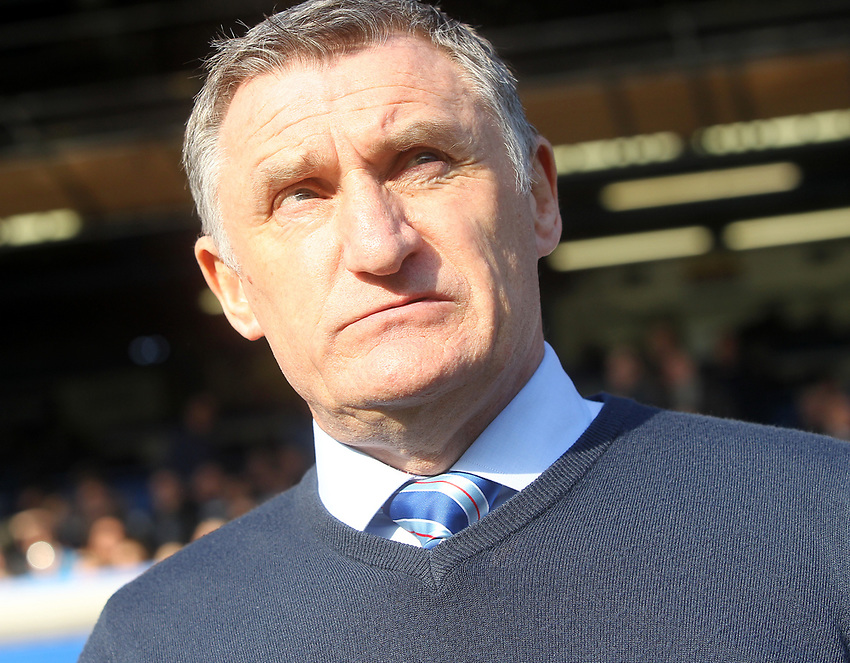 Blackburn Rovers Manager Tony Mowbray<br /> <br /> Photographer Mick Walker/CameraSport<br /> <br /> The EFL Sky Bet Championship - Birmingham City v Blackburn Rovers - Saturday 23rd February 2019 - St Andrew's - Birmingham<br /> <br /> World Copyright © 2019 CameraSport. All rights reserved. 43 Linden Ave. Countesthorpe. Leicester. England. LE8 5PG - Tel: +44 (0) 116 277 4147 - admin@camerasport.com - www.camerasport.com