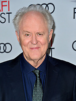 """LOS ANGELES, USA. November 17, 2019: John Lithgow at the gala screening for """"The Crown"""" as part of the AFI Fest 2019 at the TCL Chinese Theatre.<br /> Picture: Paul Smith/Featureflash"""
