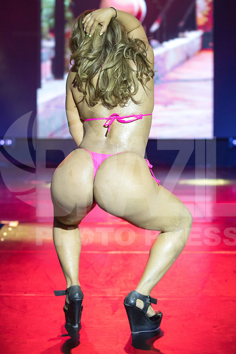 CIDADE DO MÉXICO, MÉXICO, 30.09.2019 - MISS-BUMBUM - Patt Montes  durante a final do concurso Miss Bumbum World na  ForoTotal Play na Cidade do México na capital mexicana nesta segunda-feira, 30.  (Foto: William Volcov/Brazil Photo Press)