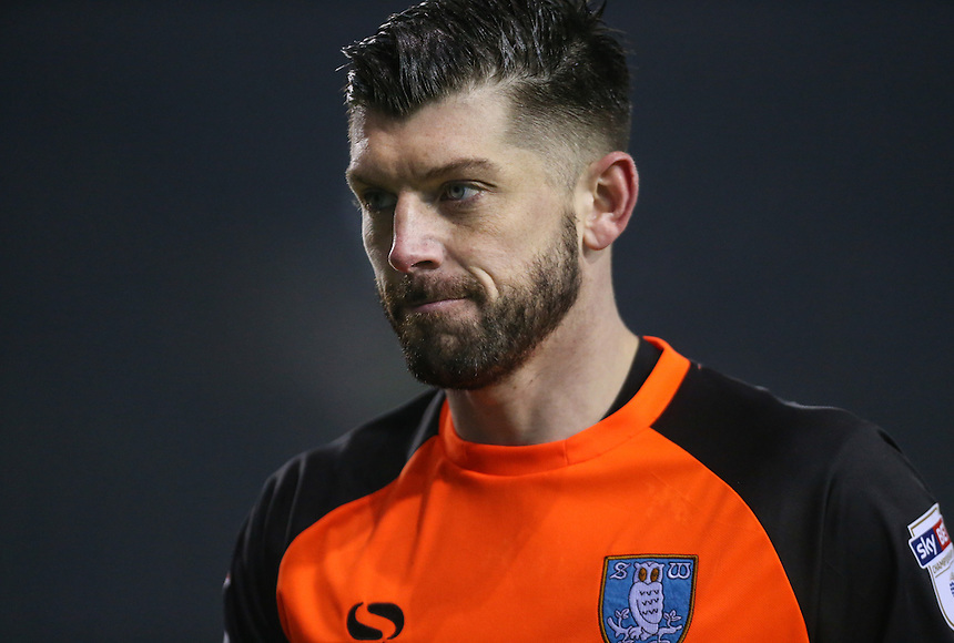 Sheffield Wednesday's Keiren Westwood in action<br /> <br /> Photographer Alex Dodd/CameraSport<br /> <br /> The EFL Sky Bet Championship - Sheffield Wednesday v Blackburn Rovers - Tuesday 14th February 2017 - Hillsborough - Sheffield<br /> <br /> World Copyright &copy; 2017 CameraSport. All rights reserved. 43 Linden Ave. Countesthorpe. Leicester. England. LE8 5PG - Tel: +44 (0) 116 277 4147 - admin@camerasport.com - www.camerasport.com