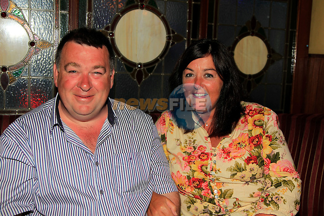 John Gorman and phadelma<br /> in McHughs cord road.<br /> Picture:  Fran Caffrey / www.newsfile.ie