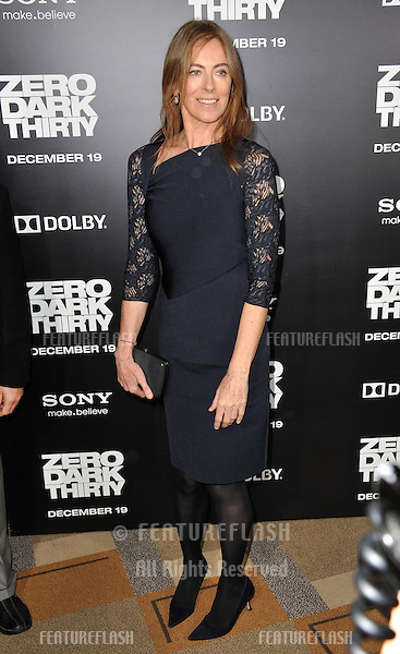 "Director Kathryn Bigelow at the premiere of her movie ""Zero Dark Thirty"" at the Dolby Theatre, Hollywood..December 10, 2012  Los Angeles, CA.Picture: Paul Smith / Featureflash"