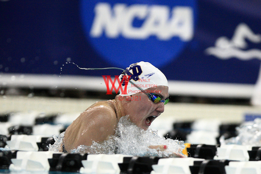 .March 18th - 20th, 2010. Purdue University, Women's NCAA Swimming & Diving National Championships.