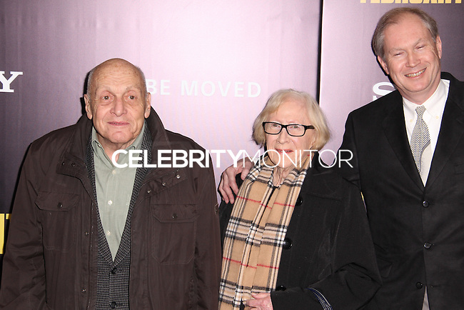"""NEW YORK, NY - FEBRUARY 04: Harry Ettlinger at the New York Premiere Of Columbia Pictures' """"The Monuments Men"""" held at Ziegfeld Theater on February 4, 2014 in New York City, New York. (Photo by Jeffery Duran/Celebrity Monitor)"""