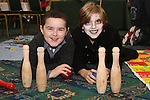 Luke Conroy and Carys Barnett at the Christmas Craft Fair in The Boyne Valley Hotel...(Photo credit should read Jenny Matthews www.newsfile.ie)....This Picture has been sent you under the conditions enclosed by:.Newsfile Ltd..The Studio,.Millmount Abbey,.Drogheda,.Co Meath..Ireland..Tel: +353(0)41-9871240.Fax: +353(0)41-9871260.GSM: +353(0)86-2500958.email: pictures@newsfile.ie.www.newsfile.ie.