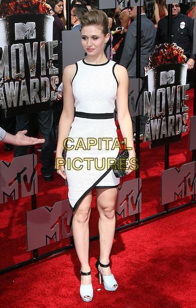 13 April 2014 - Los Angeles, California - Rita Volk. 2014 MTV Movie Awards held at Nokia Theatre L.A. Live. <br /> CAP/ADM<br /> &copy;AdMedia/Capital Pictures