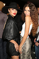 NEW YORK, NY- SEPTEMBER 8: Jasmine Sanders and Zendaya at the TOMMYXZENDAYA NYFW 2019 Runway Show at The Apollo Theatre in New York City on September 8, 2019. <br /> CAP/MPI/WG<br /> ©WG/MPI/Capital Pictures