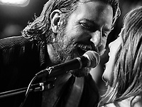 A Star Is Born (2018)<br /> Lady Gaga &amp; Bradley Cooper<br /> *Filmstill - Editorial Use Only*<br /> CAP/MFS<br /> Image supplied by Capital Pictures
