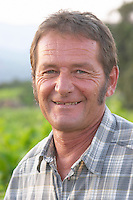 Daniel Chauveau, vice president, wine grower, of the cooperative wine producer Cave Caramany, Ariege, Roussillon, France