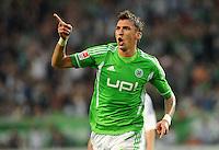 Fussball Bundesliga 2011/12: VFL Wolfsburg - FC Schalke 04