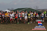 The Men's 10k race 400 meters in at the 2013 NCAA Division I Cross Country National Championships.
