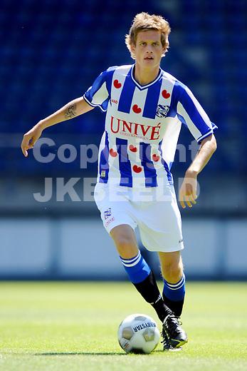 HEERENVEEN - Voetbal, persdag SC Heerenveen, sezioen 2012-2013, 24-07-2012,   Jens  Streutker.