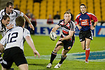 Nigel Watson looks for Tekori Luteru as th Hawkes Bay defenders arrive. Air New Zealand Cup rugby game between Counties Manukau Steelers & Hawkes Bay, played at Mt Smart Stadium on the 23rd of August 2007. Hawkes Bay won 38 - 14.