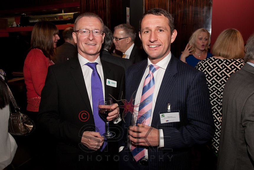 Mark Dyer (left) of GET Management with Pete Lloyd of NatWest Commercial Banking