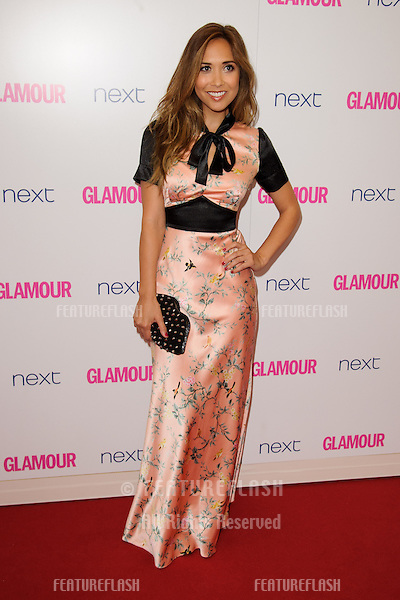 Myleene Klass arrives for the Glamour Women of the Year Awards 2014 in Berkley Square, London. 03/06/2014 Picture by: Steve Vas / Featureflash