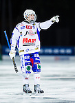 Uppsala 2013-11-13 Bandy Elitserien IK Sirius - IFK Kung&auml;lv :  <br /> Kung&auml;lv Mikael Lindberg gestikulerar<br /> (Foto: Kenta J&ouml;nsson) Nyckelord:  portr&auml;tt portrait
