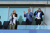 Claudio Ranieri was watching from the Stand during Chelsea vs Sunderland AFC, Premier League Football at Stamford Bridge on 21st May 2017