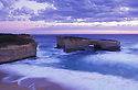 "Australia, Victoria, Great Ocean Road; ""London Bridge"" in Port Campbell National Park"