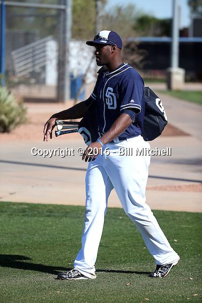Jabari Blash - San Diego Padres 2016 spring training (Bill Mitchell)
